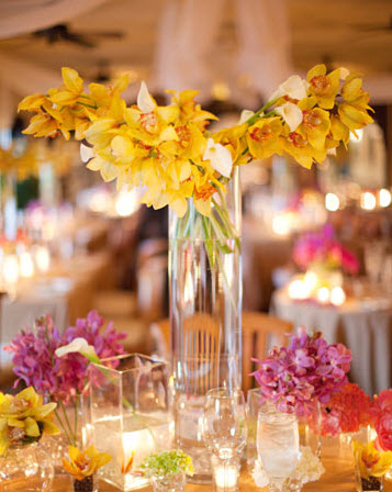 Colorful Floral Wedding Centerpieces to Complete your Wedding Decoration_9