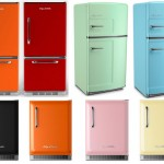 Colorful Retro Style Refrigerators, Big Chill Retro Style Refrigerators