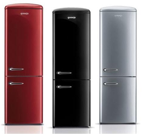 Colorful Retro Style Refrigerators, Gorenje Retro Funky Refrigerators_1