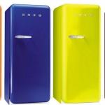 Colorful Retro Style Refrigerators, Smeg Retro Style Refrigerators