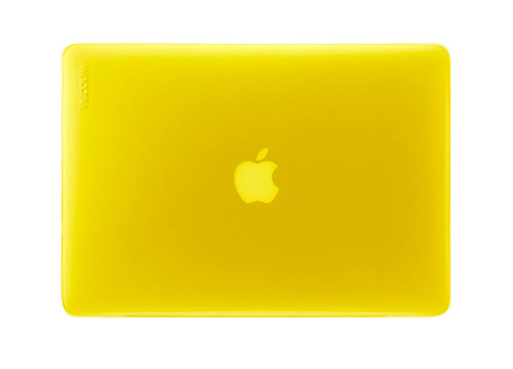 Incase's Vibrant Hardshell Cases for MacBook Pro and Air – Electric Yellow