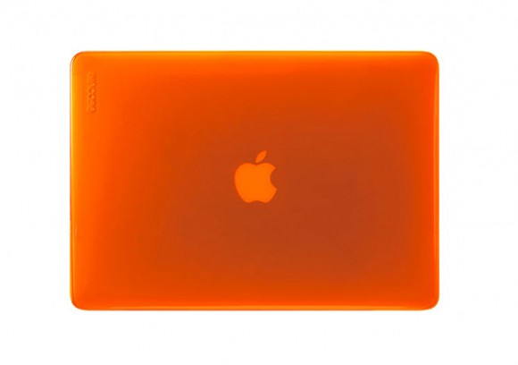 Incase's Vibrant Hardshell Cases for MacBook Pro and Air – Red Orange