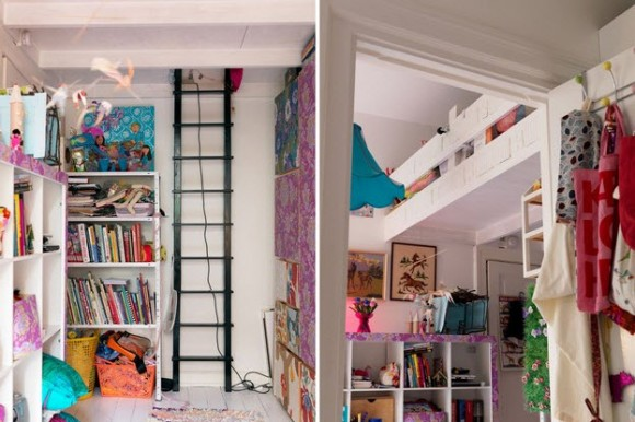 Small Two-Room Apartment With Lots of Colorful Stuff_5