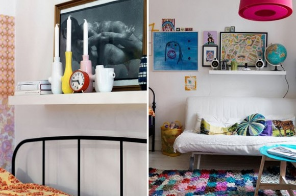 Small Two-Room Apartment With Lots of Colorful Stuff_9