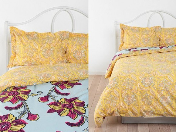 Beautiful Multi-colored Duvet Covers and Pillow Shams_2