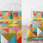 Beautiful Multi-colored Duvet Covers and Pillow Shams_3