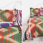 Beautiful Multi-colored Duvet Covers and Pillow Shams_6