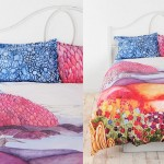 Beautiful Multi-colored Duvet Covers and Pillow Shams_7
