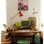 Colorful Home Office Decor Ideas_10