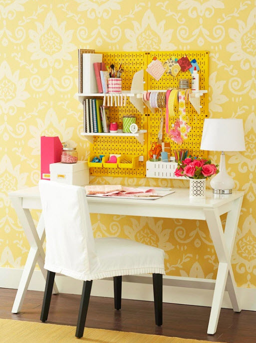 Colorful Home Office. Colorful Home Office Decor Ideas