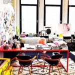 Colorful Home Office Decor Ideas_3