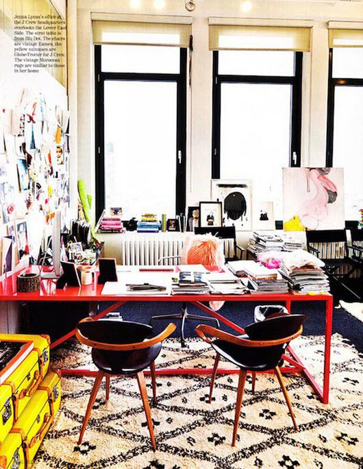 Colorful Home Office Decor Ideas_3
