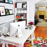 Colorful Home Office Decor Ideas_6