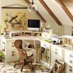 Colorful Home Office Decor Ideas