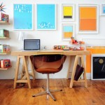 Colorful Home Office Decor Ideas_8