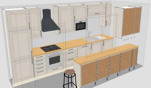 Galley Kitchen Layout Part 52