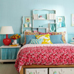 17 Simple and Colorful Design Ideas for Decorating Teenage Girls Bedrooms