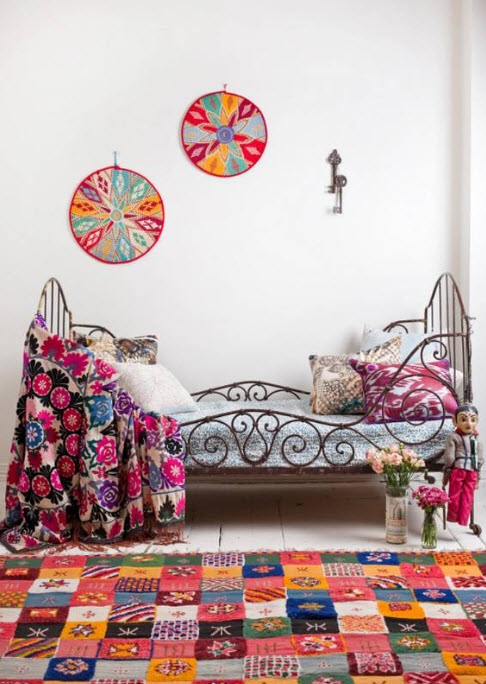 17 Simple and Colorful Design Ideas for Decorating Teenage Girls Bedrooms_13