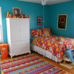 17 Simple and Colorful Design Ideas for Decorating Teenage Girls Bedrooms_14