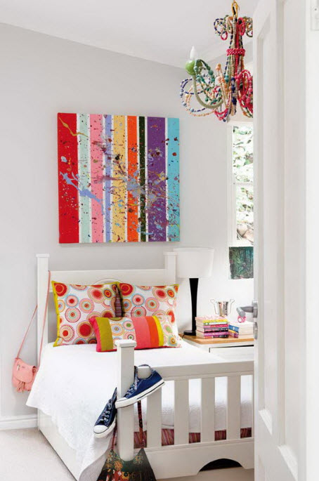 17 Simple and Colorful Design Ideas for Decorating Teenage Girls Bedrooms_3