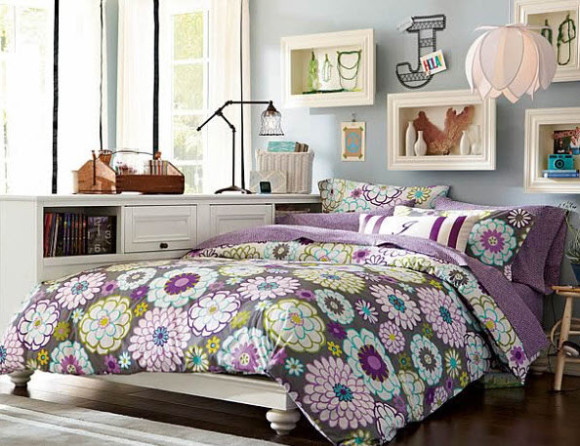 17 Simple and Colorful Design Ideas for Decorating Teenage Girls Bedrooms_7