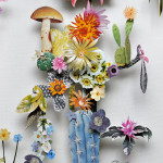 Amazing 3D Botanical Flower Constructions by Anne Ten Donkelaar