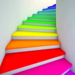 Colorful Staircases to Spice Up Your House