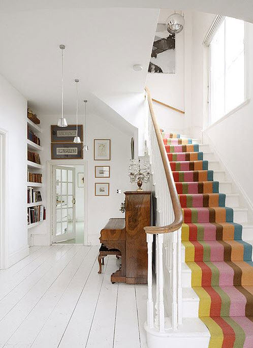 Colorful Staircases to Spice Up Your House_4