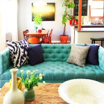 Colored Tufted Sofas