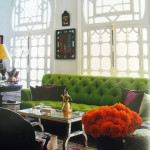 Colored Tufted Sofas to a Fab Living Room
