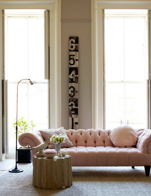 Colored Tufted Sofas Pink Tufted Sofa