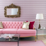 Colored Tufted Sofas Pink Tufted Sofa_1