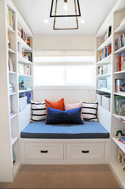 Colorful Reading Nooks for Book Lovers_13