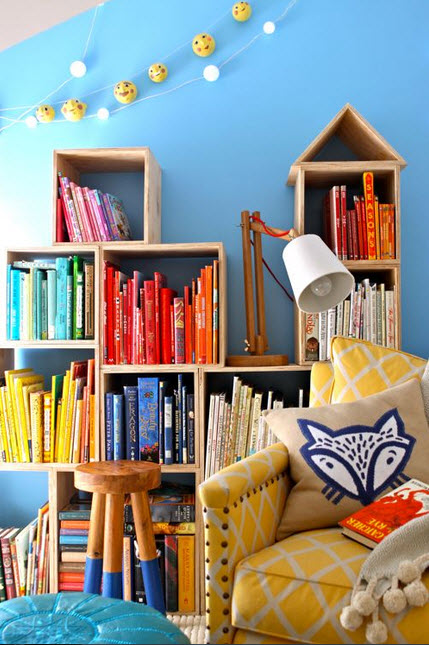 Colorful Reading Nooks for Book Lovers_3