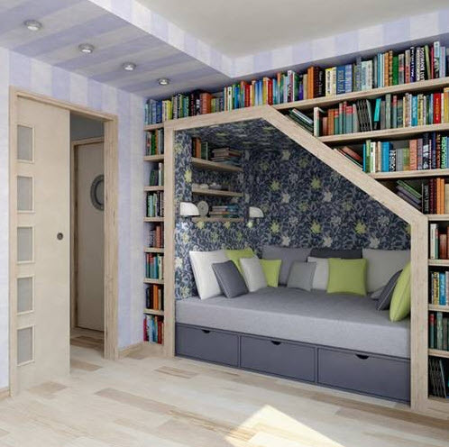 Colorful Reading Nooks for Book Lovers_7