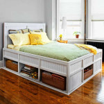 Bed with Storage for Tiny Bedroom