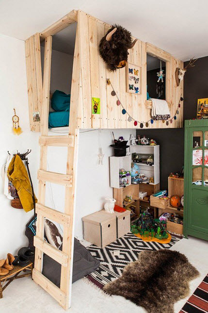 Fun and Colorful Loft Bed Ideas