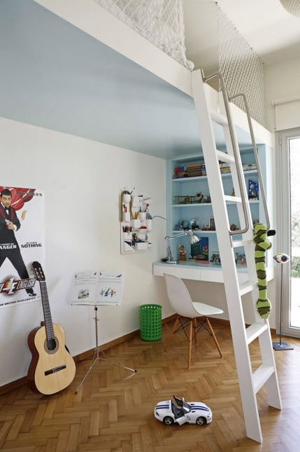 Fun and Colorful Loft Bed Ideas_10
