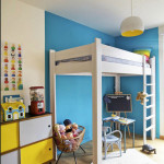 Fun and Colorful Loft Bed Ideas_14