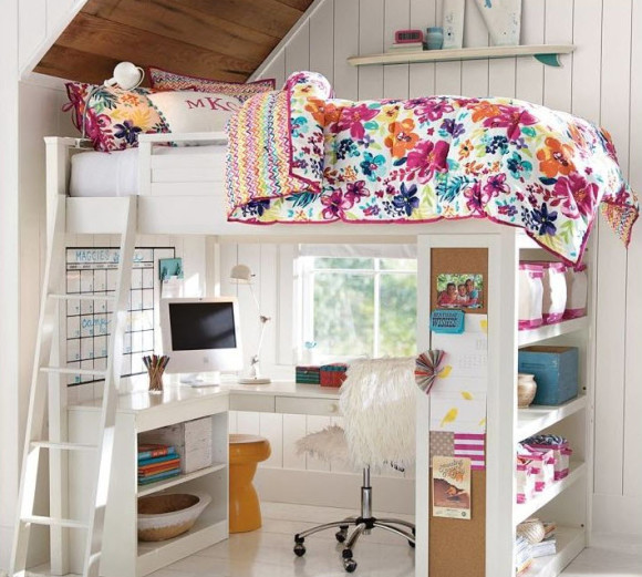 Fun and Colorful Loft Bed Ideas_2