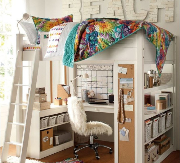 Fun and Colorful Loft Bed Ideas_3