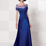 Cameron Blake Blue Mother of the Groom Dresses_1