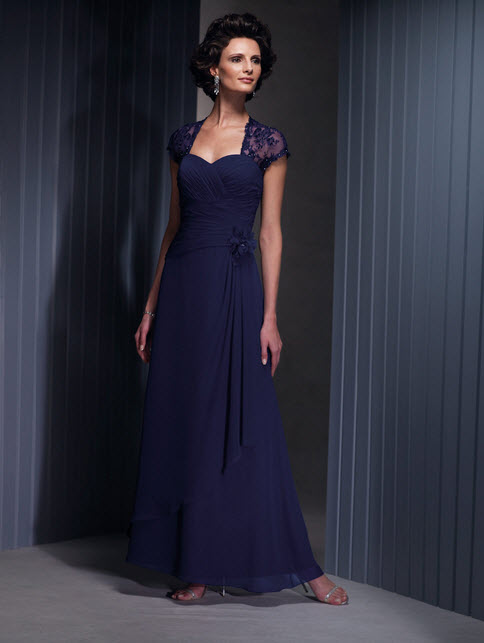 Cameron Blake Blue Mother of the Groom Dresses_9