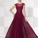 Cameron Blake Red Mother of the Groom Dresses_3
