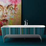 Colorful Bathtubs for Master Bathroom