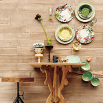 Colorful Dinner Plate Wall Arrangements_1