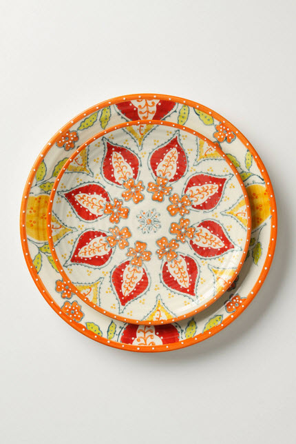 Colorful Dinnerware Sets Anthropologie_1
