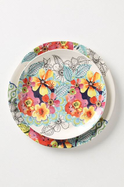 Colorful Dinnerware Sets Anthropologie_6