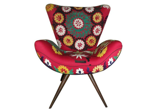 Vintage and Colorful Armchairs from Szalay Contemporary Design_1