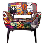 Vintage and Colorful Armchairs from Szalay Contemporary Design